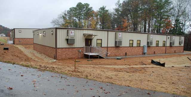 Modular Buildings For Reservist Training Center