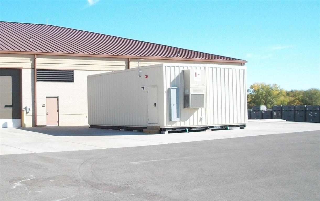 TINKER AFB Modular Open Storage Facilities
