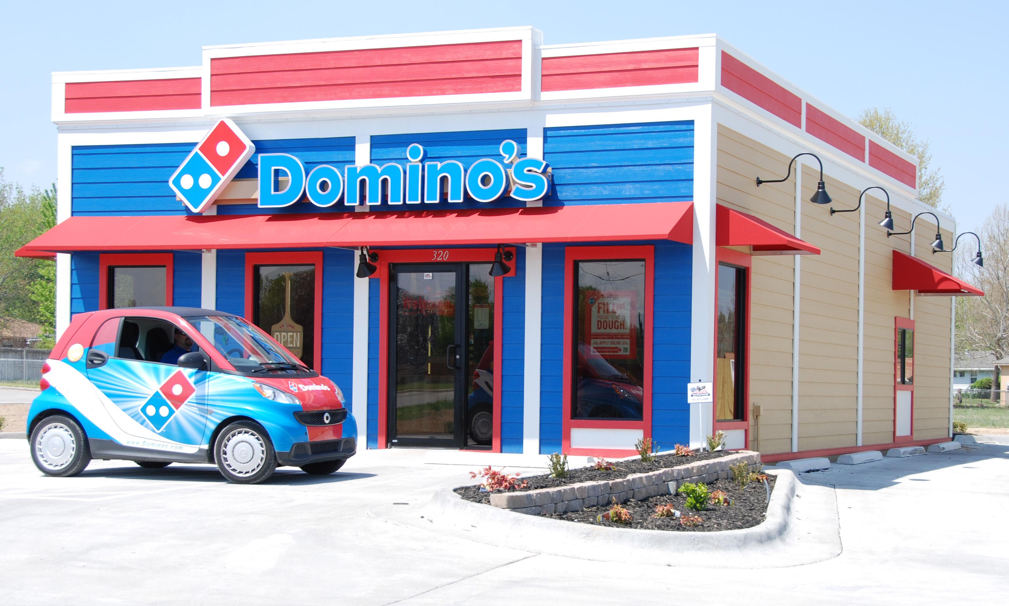 New Restaurant Construction : Domino s pizza new modular restaurant